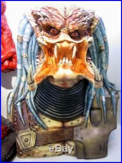 11 Predator Bust Life Size Resin Hobby Model Garage Kit Unpainted DIY Recast