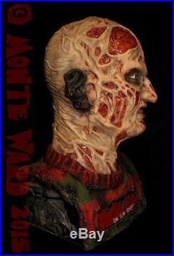 11 Resin Freddy Krueger Bust MODEL KIT Sideshow ANOES Rare Horror Monster Slash