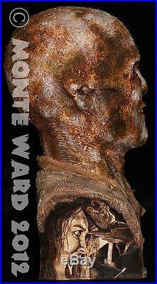 11 ZOMBIE Resin Model Kit Bust Lucio Fulci Walking Living Dead LifeSize Rare 2