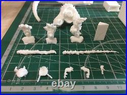 120mm Resin Figure Model Kit Godzilla Destroys City Unpainted Unassambled