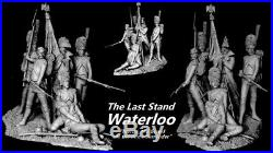 120mm resin kits Last Stand Imperial Old Guard Waterloo. 6 x figs by Carl Reid