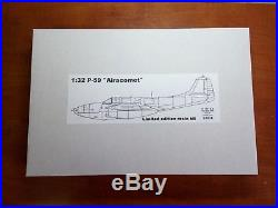 132 P-59 Airacomet Limited edition resin kit