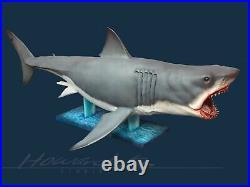 16 Large Scale Jaws Bruce Shark Resin Cast Model Kit Maquette Rare 49 Long