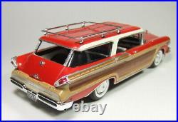1957 Mercury Colony Park 4 dr. Station Wagon Pro Built Resin 1/25th Modelhaus
