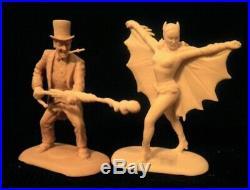 1966 Set of 6 Ideal Style Bat Figures Resin Model Kit 02BBL01
