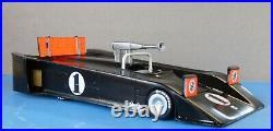 1970 Black Avs Shadow Streamliner Can Am Model Kit, Sports Car, Indy Resin