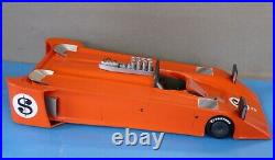 1970 Orange Avs Shadow Streamliner Can Am Model Kit, Sports Car, Indy Resin