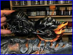1/10 Ghost Rider Statue Resin Model Kits GK Collections Figure Gifts Painted New