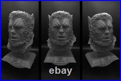 1/1 resin bust Curse of the werewolf Resin Model Kit