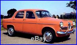 1/24 ALFA ROMEO BERINETTA 1958 resin DIY BASE PARTS ONLY kit by AIR TRAX FINLAND