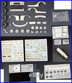 1/24 RB RX-7 Wide Body Transkit for Tamiya kit #24116 (resin, decals & PE)