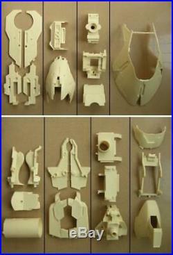 1/24 Scale MSN-04 Sazabi Head Bust Resin Gundam Model Kit Char ka with Led Decals