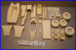 1/25 1973 Gulf Mclaren Pole Sitter Resin/white Metal Model Kit, Indy Resin, Usac