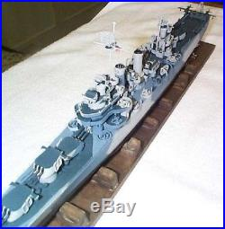 1/350 4053 USS Nashville CL-43 Brooklyn class Light Cruiser Resin Model Kit