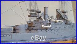 1/350 #4145 USS Michigan BB-27 Battleship Complete Resin & PE Brass Model Kit