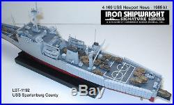 1/350 #4169 U. S. S. Newport LST-1179 Full Hull RESIN & PE KIT 1985 Version