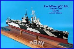 1/350 4242 USS Miami CL-89 Cleveland class Light Cruiser Resin Model Kit