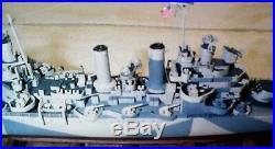 1/350 ISW 4053 USS Nashville CL-43 Light Cruiser Resin Model Kit