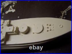 1/350 ISW 4116 USS Oklahoma -1941 Pearl Harbor Fit Resin & PE Brass Model Kit