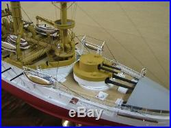 1/350 ISW 4152 Battleship USS Kearsarge BB-5 Complete Resin, PE Brass Model Kit