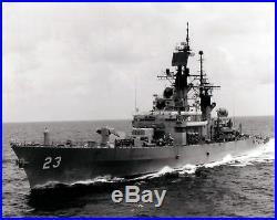 1/350 ISW 4171 USS Halsey CG23 1989 Leahy Class Crusier Resin Model Kit