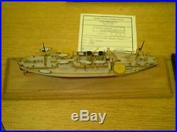 1/350 USS Maine First U. S. Battleship Complete Resin & PE Brass Model Kit