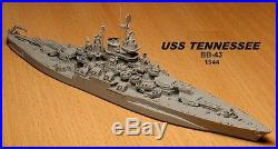 1/350 USS Tennessee BB43 1944 Complete Resin & PE Brass Model Kit + options