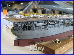 1/350 U. S. S. Langley CV-1 Circa 1930 Resin & PE BRASS WOOD Model Kit