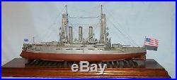 1/350 U. S. S. Ohio BB-12 1910 Resin & Brass Model Kit