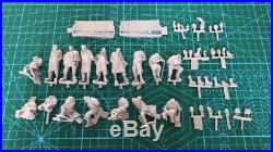 1/35 16pcs Resin Figure Model Kit German Soldiers Surrender no car WWII Unpainte