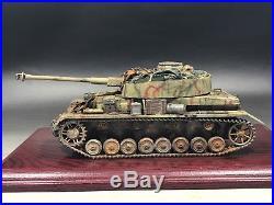 1/35 Built German Panzer IV Ausf. H withBlack dog resin supplies & T-34 Track-armor