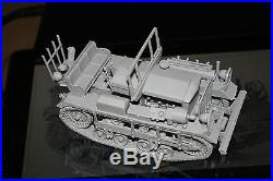 1/35 WW II US M2 High Speed Tractor CLETRAC complete Resin Model Kit
