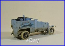 1/35 scale WW1 Renault mod resin kit detailed with PE parts military model kit