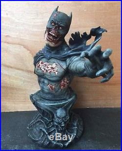 1/3 Batman Zombie Version Bust Figure Model Finished Product Resin Kit 50CM