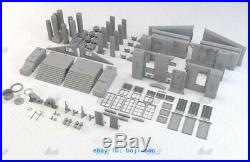1/45 H54cm Back To The Future Court building Resin Model Kits Unpainted 3D Print