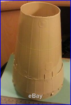 1/48 Apollo Spacecraft CSM, BPC, LES, SLA, and IU unbuilt resin model kit