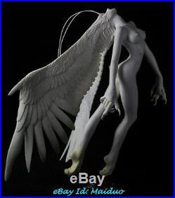 1/4 Dancing Evil Angel Figure Resin Model Kits Unpainted GK