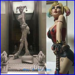 1/4 Scale Female Joker Harley Quinn Resin Model Kits Unpainted 3D Printing New