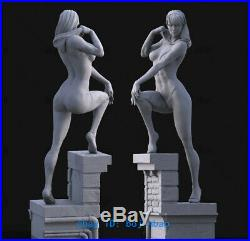 1/4 Scale Gwen Stacy Resin Model Kits Unpainted 3D Printing Anime Garage Kit