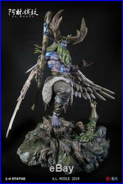 1/4 WOW Dryad Treants Statue Resin Model Kits GK A. L Studio Collectibles New