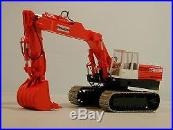 1/50 Poclain RC 200 Back Hoe High quality RESIN KIT by Dan Models
