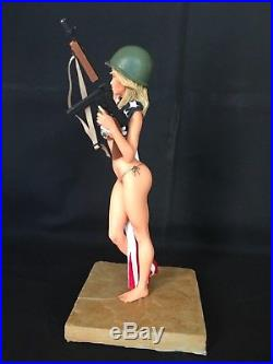 1/6 Resin Model Kit, Sexy action figure American Dream