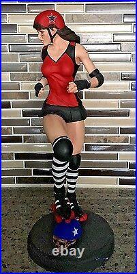 1/6 Resin Model Kit, Sexy action figure Roller Derby Girl