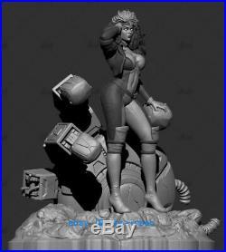 1/6 Rogue Anna Marie Resin Model Kits Unpainted 3D Printing Figure Unassembled