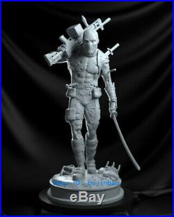 1/6 Scale Deadpool Resin Model Kits Unpainted 3D Printing Anime Collection