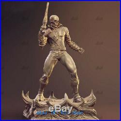 1/6 Scale Ghost Rider Resin Model Kits Unpainted 3D Printing Super Hero Statue
