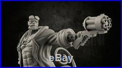 1/6 Scale Hellboy Statue Resin Model Kits Unpainted 3D Printing Garage Kit