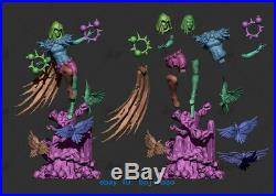 1/6 Scale Raven Statue Resin Model Kits Unpainted 3D Printing Garage Kit