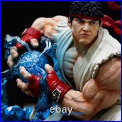 1/6 Scale Street Fighter Ryu Resin Model Kits Unpainted 3D Printing Anime Statue