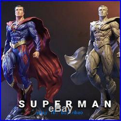 1/6 Scale Superman Figure Resin Model Kits Unpainted 3D Printing Garage Kit
